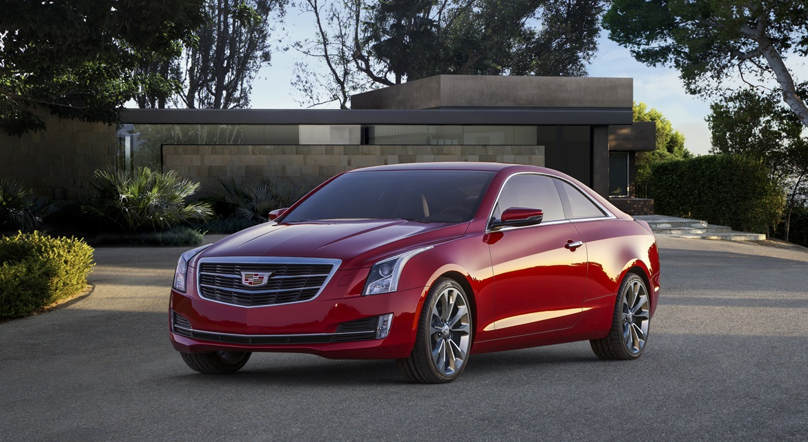 Cadillac ATS Coupe 01 Genf 2014