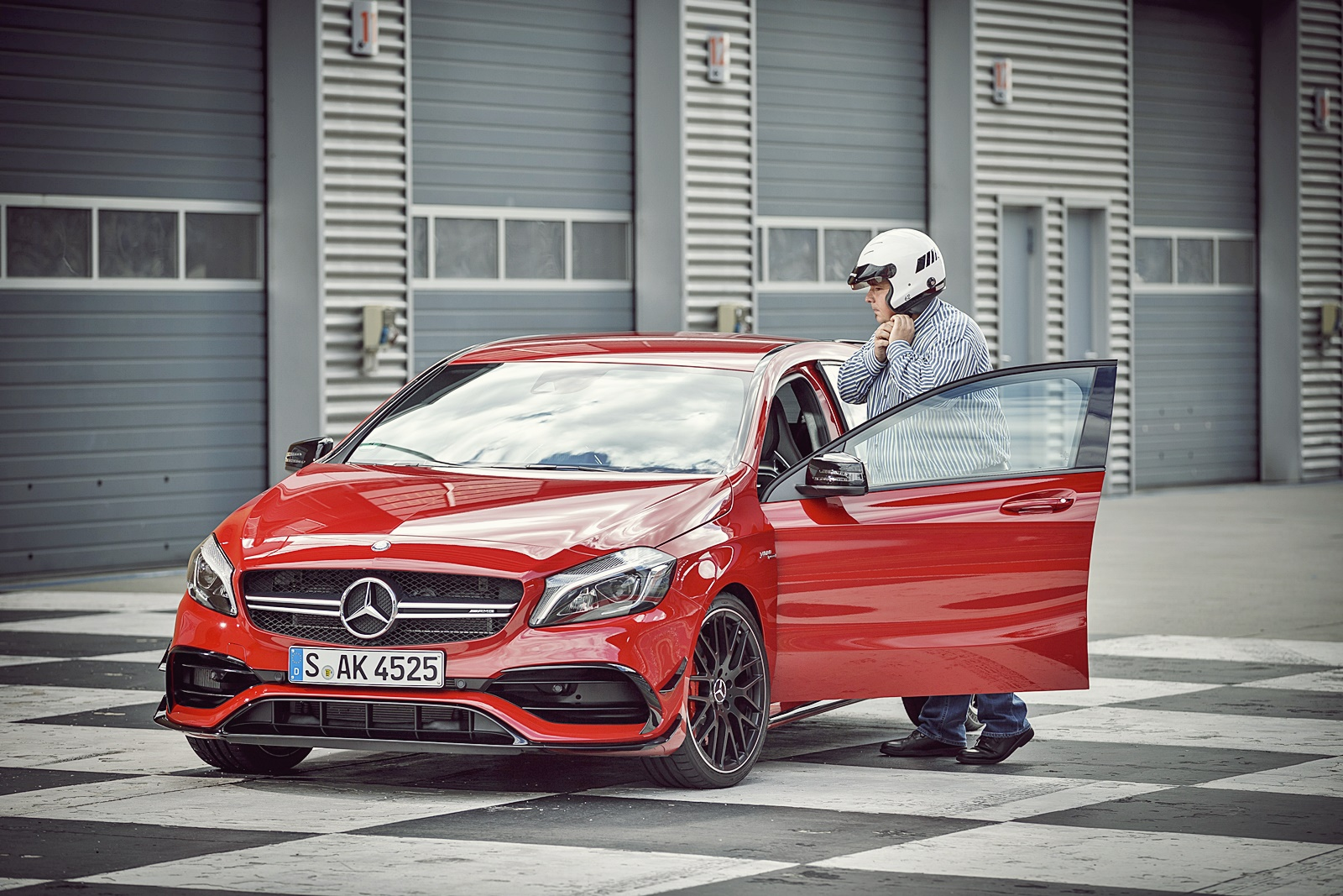 erster test 036 mercedes-amg a45 lausitzring